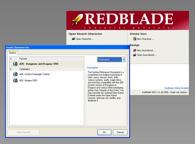 Redblade SRD: Screenshots 23-10-2006